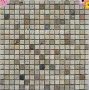 Natural Stone Mosaic Mystery Wind tumbled
