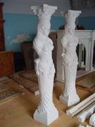 Carving Stone Gate Pillars
