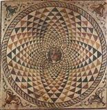 Mosaic floor medallion