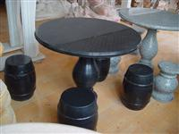 Natural Stone Furniture Black Granite Table
