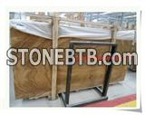 Imperail Golden Wood Marble Slabs
