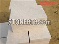 Natural White Quartzite Tiles Honed