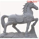 Granite Animal Carvings Horse Sculpture