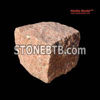 Garden Paving - G386 Red Granite Pavers -HestiaMade