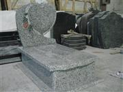 Germany Grey Granite Tombstone