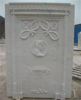 White Monument Tombstone