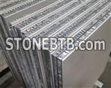 Stone honeycomb panels