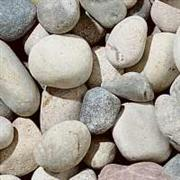 White Carrara Pebbles