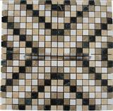 Mix-Color China Marble Mosaic Tiles