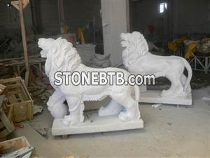 No.S048, Standing Lion - 3