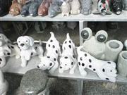No.S022, Small Dogs with Black Spots