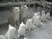 No.S030, Sitting Dogs - 4