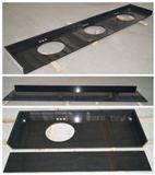 Shanxi Black Granite Tile for Countertop