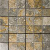 Peruvian Polished Travertine Mosaic