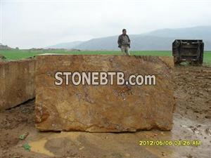 SIVAS YELLOW TRAVERTINE BLOCKS