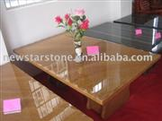 brown table top