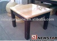 honey onxy table top,beige dining table,onyx desk