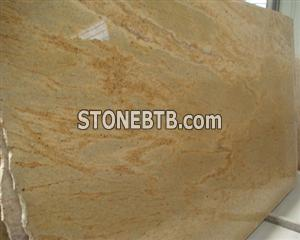 Kashmir Gold Granite Slab