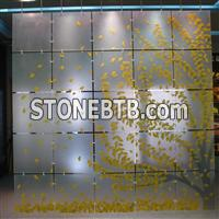 nature stone, acrylic decoration material, wall panel, buidling material, polyester resin