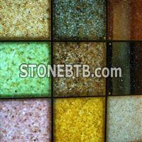 New translucent river stone, pebble stone panel,artificial stone panel
