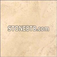 Beige Travertine Honed - Cross Cut