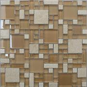 Stone and Glass Mixed Mosaic