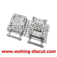 Metal Punching Die With Auto Stripping Inner Holes And Long Life Resharpenable Rules