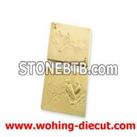 Embossing And Hot Foil Stamping Die Made Of Brass