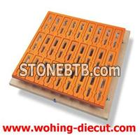 Blanking Tools Made Of Aluminum And EVA And Wood High Resistance