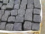 G684 black basalt Cobble Stone