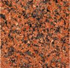 Tianshan red granite slab tile