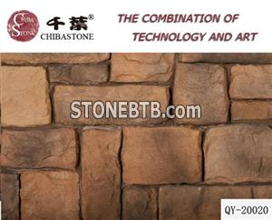 Artificial Stone with 12 to 41cm in Length and 2 to 3 5cm Heights