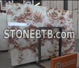 Natural Red house onyx