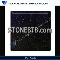 black pure artificial stone sheet for sale