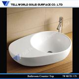 white wash basin for bathroom