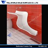 bathroom basin,solid surface basin,solid surface sink