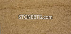 Yellow Sandstone Bush Hammered Surface