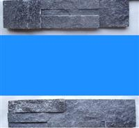 Black Cultured Veneer Ledge Walling Stone-Quartzite
