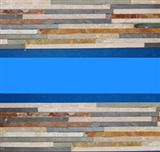 Multicolored Cultured Veneer Ledge Walling Stone-Slate