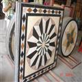 Waterjet Medallion Mosaic Tile