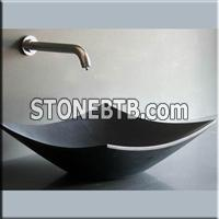 Black Basalt Vessel Sink