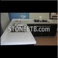 Crystallized Glass Kitchen Countertop
