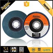 Passed ISO,MPA Flap Discs For Inox (ZA) ISO Certified MPA Certified EN13743 EU Standards