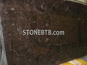 Angela brown granite slab