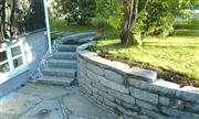 Granite blocks, landscaping stones