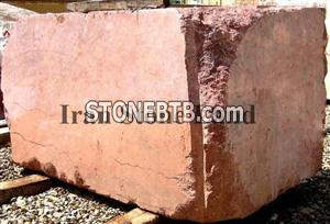 Red Fire Marble Block