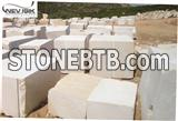 White Gold Beige Marble Block