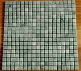 Ming green marble mosaic