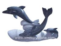 Granite Carving (Dolphin)