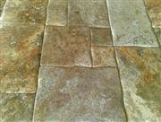 Scabas Travertine Pillowed Edge Pattern
